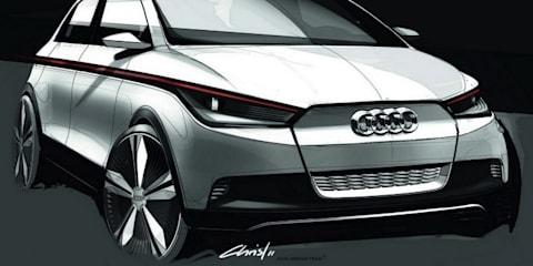 Audi A2 Concept EV revealed ahead of Frankfurt show