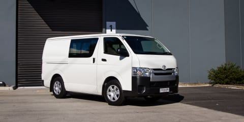 2015-16 Toyota HiAce recalled for door latch fix:: 500 vehicles affected