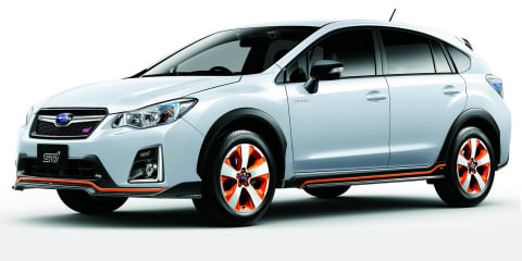 Subaru XV Hybrid tS gets STI tweaks and a homeland launch schedule