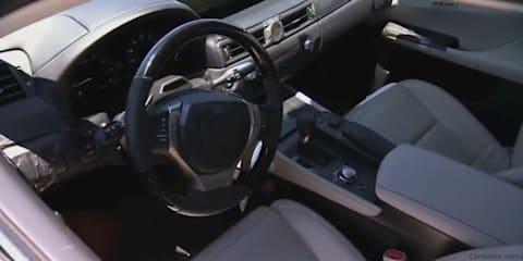 2013 Lexus GS on-track sneak peek video
