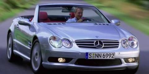 Mercedez Benz SL55 AMG Roadster