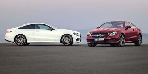 2017 Mercedes-Benz E-Class Coupe revealed ahead of Australian debut