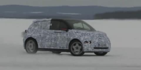 Video: BMW i3 spied rear-wheel drive drifting on snow