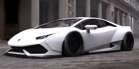 Lamborghini Huracan gets wider and wilder
