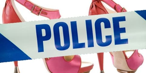 Cross-dressing police officer charged for offensive behaviour