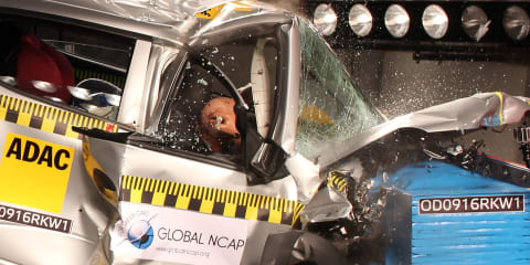 Devastating zero star NCAP scores for five Indian-market cars