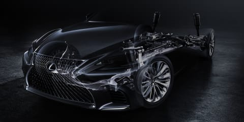 2018 Lexus LS teased ahead of Detroit unveiling