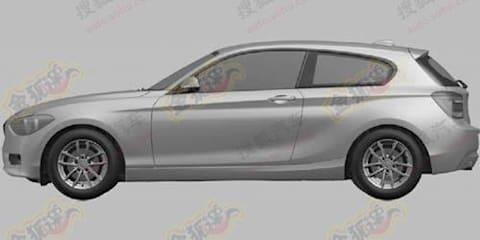 BMW 1 Series three-door patent images revealed