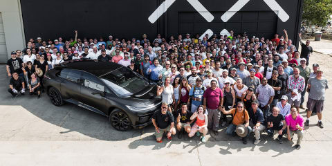 Faraday Future FF91: Pre-production vehicle revealed