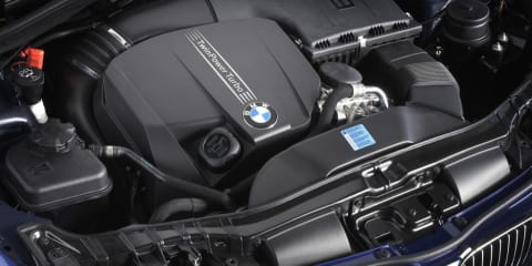 BMW TwinPower technology for future three-cylinder engines