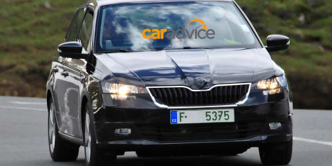 2015 Skoda Fabia : Third-generation city car drops camouflage