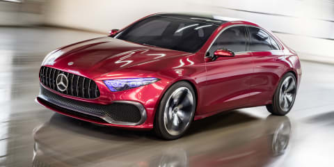 2018 Mercedes-Benz A-Class sedan concept revealed