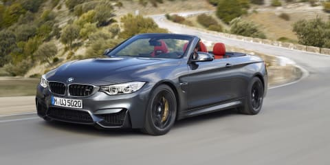 BMW M4 Convertible revealed