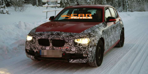 2012 BMW 1 Series spy shots