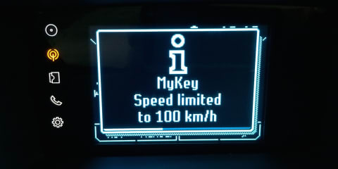 Ford MyKey expands with lower speed limit settings