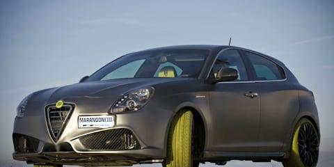 Alfa Romeo Giulietta G430 iMove Marangoni gets more than green tyres