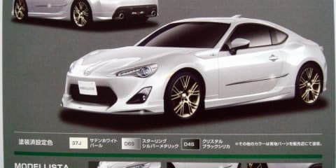 Toyota FT-86 leaked in brochure ahead of debut