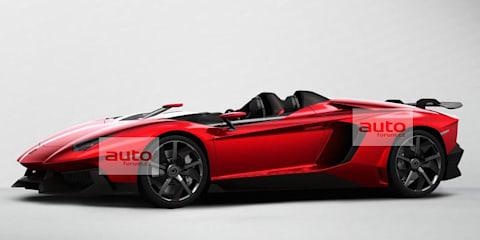Lamborghini roadster concept leaked