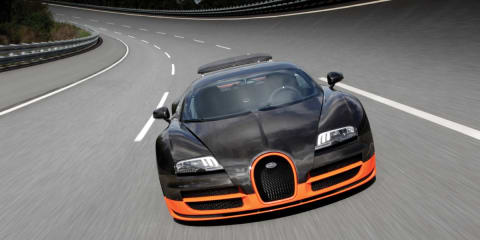 Video: Bugatti Veyron Super Sport top speed and hot lap on Top Gear