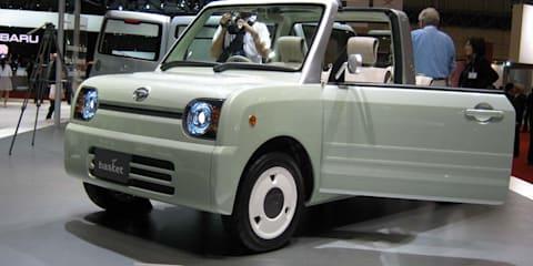 Daihatsu stand at Tokyo Motor Show