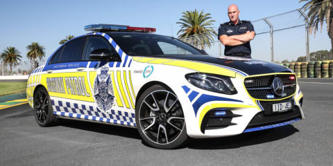 Mercedes-AMG E43 goes operational with Victoria Police - UPDATE