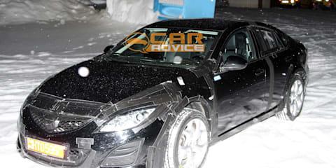 2013 Mazda6 spy shots