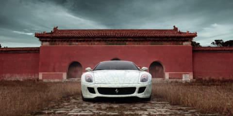 Unique Ferrari 599 sells for $2 million