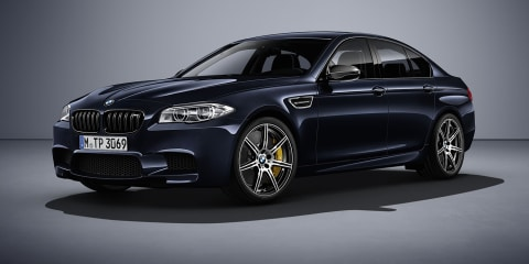 2016 BMW M5 Competition Edition revealed