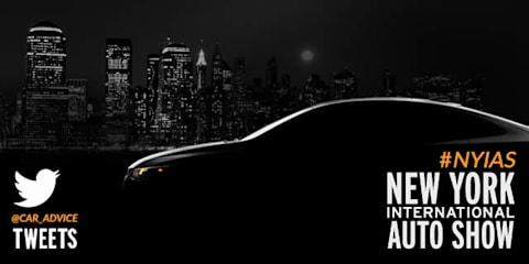 CarAdvice Live Tweets the New York International Auto Show