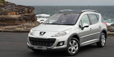 Peugeot 207 Touring Outdoor special edition