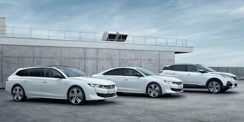 2019 Peugeot 508, 3008 plug-in hybrids revealed