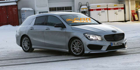 Mercedes-Benz CLA Shooting Brake: compact wagon spied again