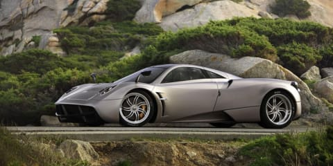 2011 Pagani Huayra revealed