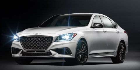 2017 Genesis G80 3.3T Sport: twin-turbo sedan detailed