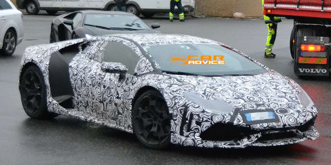 Lamborghini Gallardo successor spied, 'Huracan' name rumoured