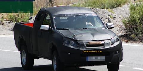 2012 Isuzu D-MAX Spy Photos