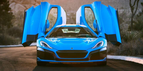 Rimac C_Two California revealed for Monterey Car Week