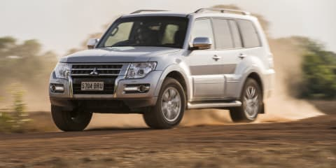 Mitsubishi Pajero development on pause