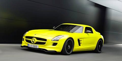 Mercedes-Benz SLS AMG E-Cell: technical details