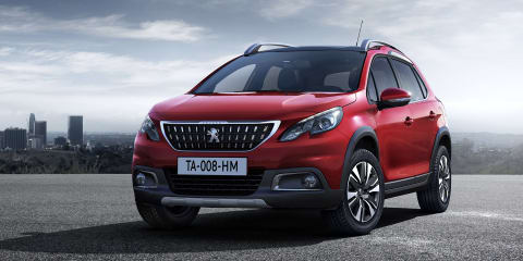 2017 Peugeot 2008 facelift unveiled