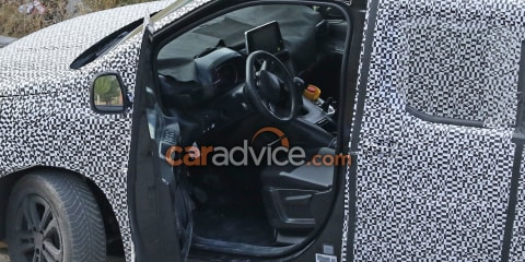 2018 Citroen Berlingo and Peugeot Partner interior spied