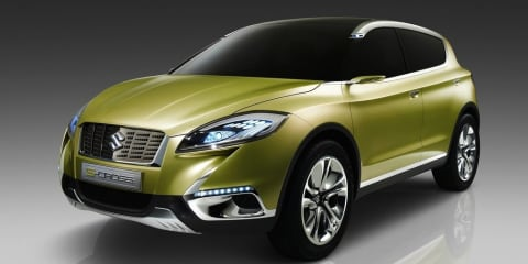 Suzuki S-Cross: baby SUV slated for late 2013
