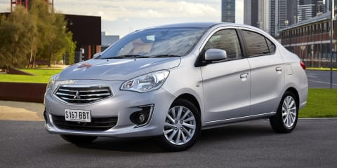 Mitsubishi Mirage sedan pricing and specifications