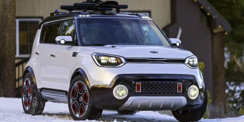 Kia Trail'ster takes Soul off-road with turbo e-AWD drivetrain