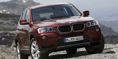 2011 BMW X3 xDrive35d and xDrive20i announced, Australia not comfirmed
