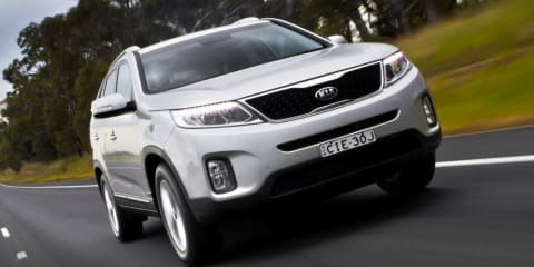 Kia Sorento: heavy duty tow package upgrades down ball weight to 150kg