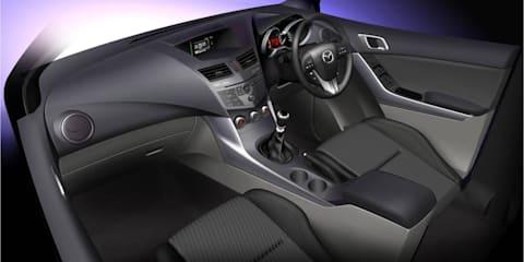 2011 Mazda BT-50 interior design revealed before AIMS