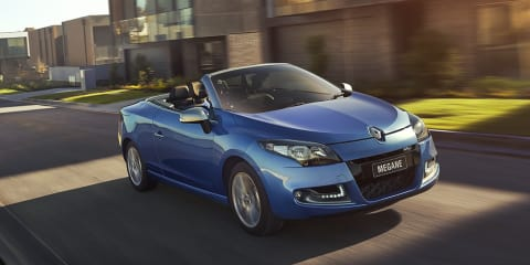 Renault Megane CC gets new entry model, $9000 price cut