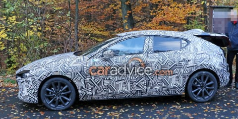 2019 Mazda 3: Design and interior spied in testing