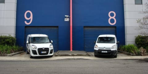 Fiat Doblo v Citroen Berlingo :: Small van comparison test